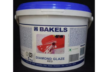 Bakels Diamond Glaze Red