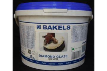 Bakels Diamond Glaze Silver