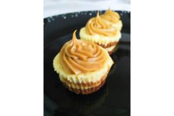 Dulce de Leche Cheesecake Bites