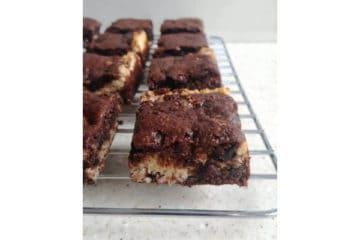 Macaroon Brownie Bars