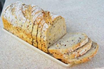 Soy and Linseed Bread