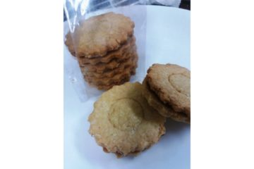 Pineapple Coconut Biscuits