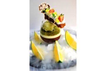 Kiwi-Lime Sherbet