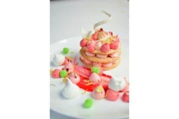 Pomegranate Dacquoise