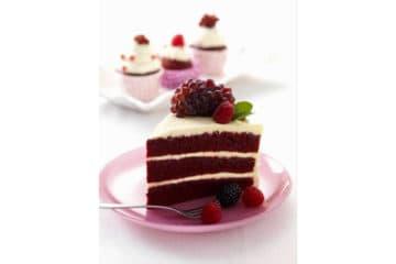 Red Velvet Cake Slice
