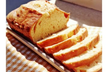 Soy and Linseed Loaf Cake