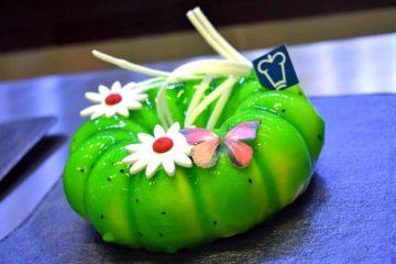 Kiwi Sponge Cake