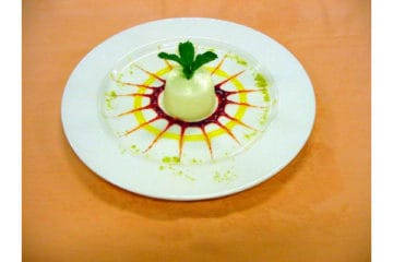 Lemon and Lime Panna Cotta