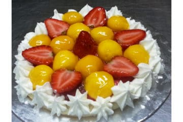 Mango Strawberry Pie