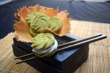 Matcha-Waited Cookies