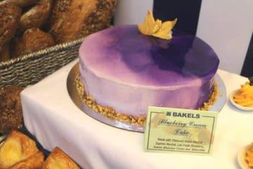 Blueberry Crème Cake