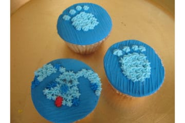 Blue's Clues Cupcakes