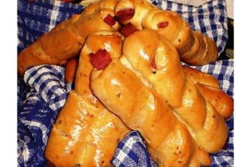 Ham Curl Bread