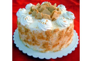 Honeycomb Crunch Cake