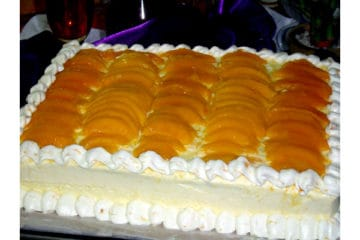Mango Pandan Torte
