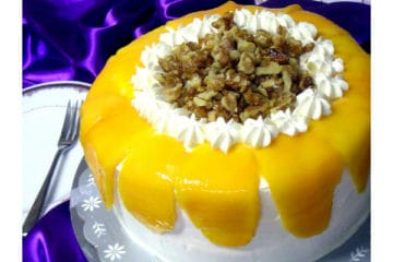 Mango Walnut Cake