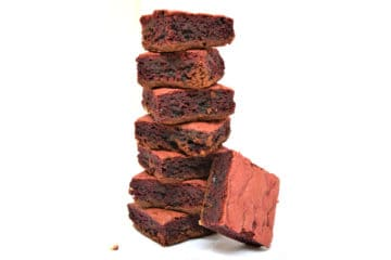 Red Velvet Brownie Bar