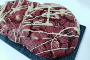 Red Velvet Peanut Butter Cookie