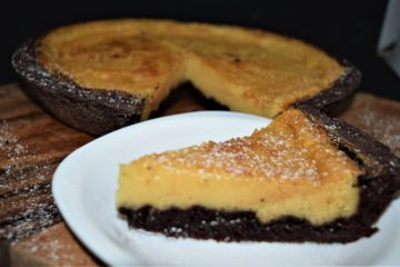 Brownie Egg Pie