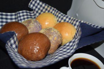 Pan de Coco Bread Variants