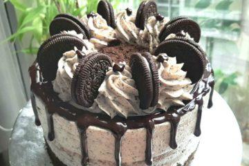 Cookies and Cream Moist Cake